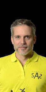 Vincent Grize, préparateur physique